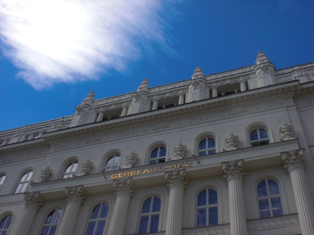 Gerbeaud-Haz. Budapest, Hungary.