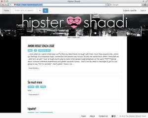 Hipster Shaadi